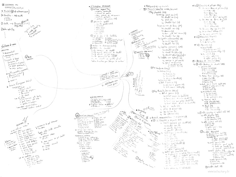 mind map information architecture
