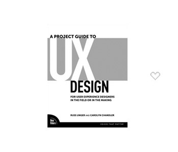 couverture livre a practical guide to ux design