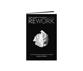 couverture livre Rework Jason Fried - David Heinemeier