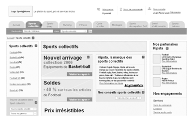illustration projet UX Decathlon