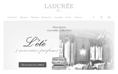 illustration projet UX Laduree