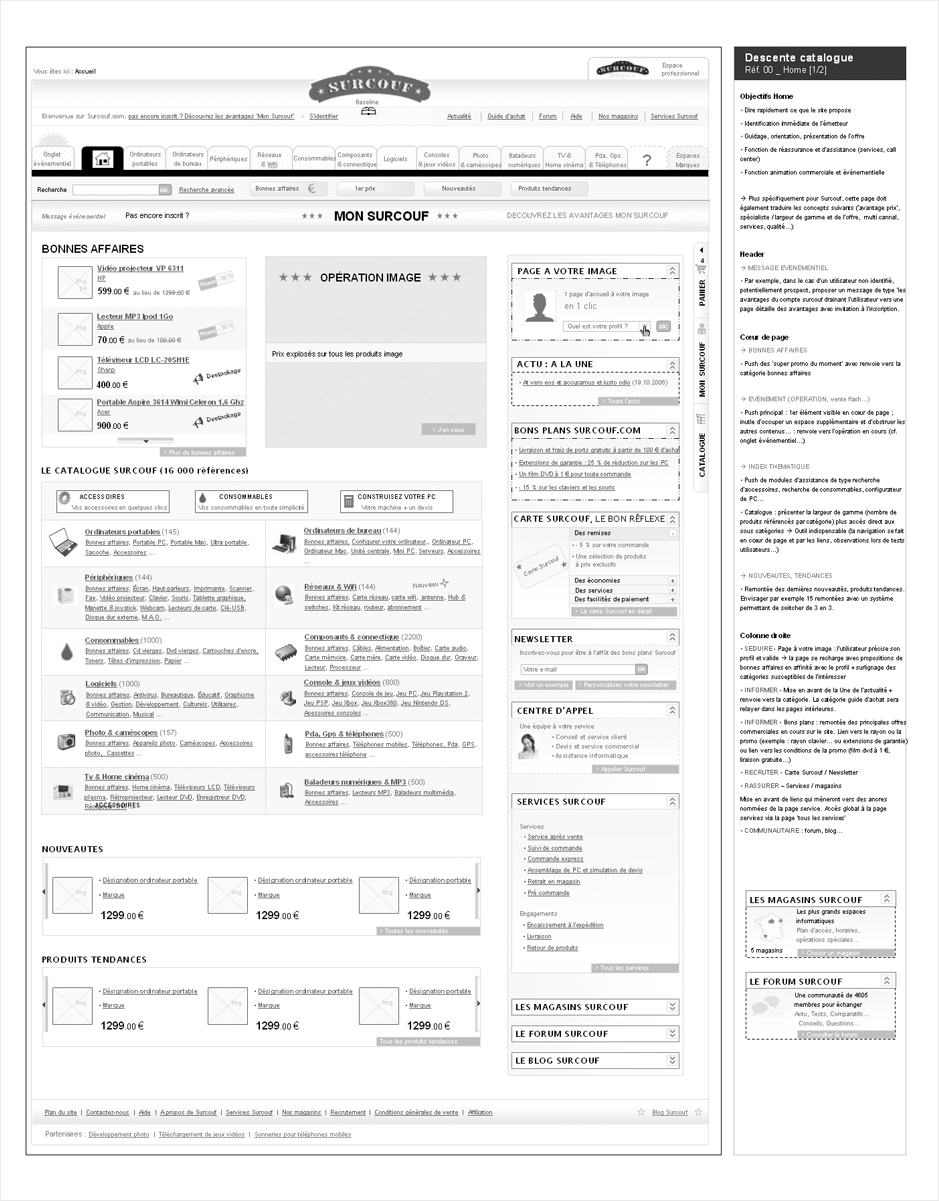 wireframe surcouf