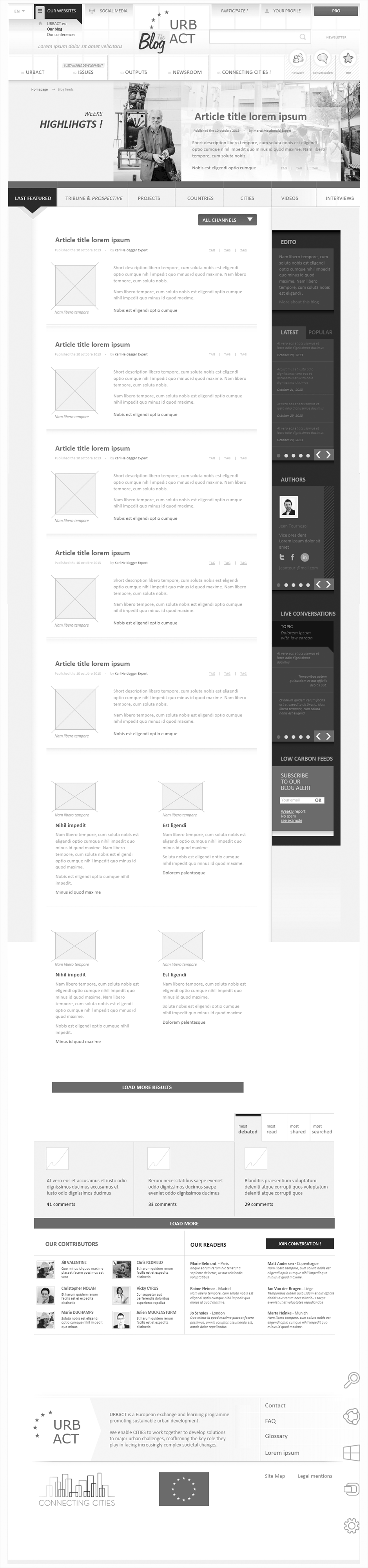 wireframe urbact