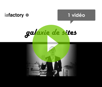 vignette galaxie de sites video à la demande vod Ux design