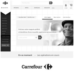 projet ux iafactory carrefour