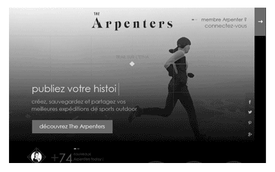 illustration projet UX The arpenters