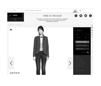 télécharger wireframre site ecommerce responsive